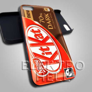 KitKat Dark Chocolate Pack - iPhone 4/4s/5 Case - Samsung Galaxy S3/S4 Case - Black or White
