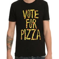 Vote For Pizza T-Shirt
