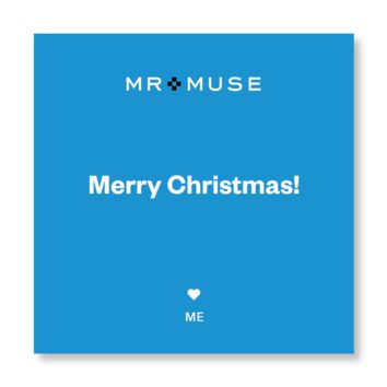 Gift Note, Tissue & Gift Box | Merry Christmas!