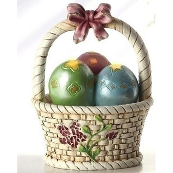 4 Easter Egg Baskets - Light-up