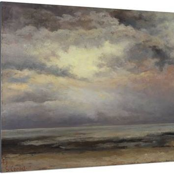 L'Immensite, c.1869 Giclee Print by Gustave Courbet at Art.com