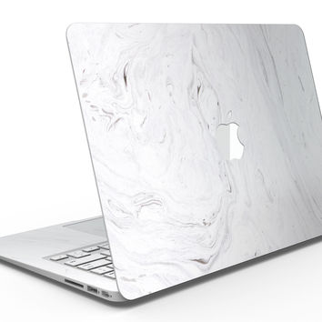 Mixtured Gray v11 Textured Marble - MacBook Air Skin Kit
