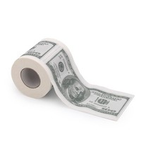 HDE Novelty $100 USD Dollar Bill Funny Money Currency Toilet Tissue Paper Roll