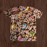90's Kid Lucky Charms Shirt unisex Youth & Adult size tshirts USA Handmade *Fast Shipping*