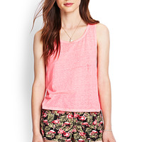 FOREVER 21 Flamingo Print Denim Shorts Black/Multi