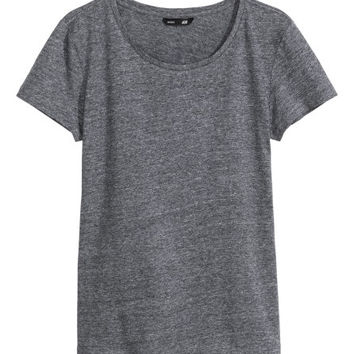 T-shirt in Slub Jersey - from H&M
