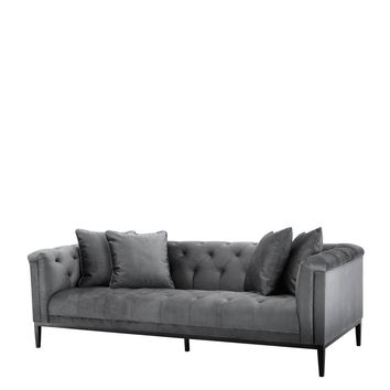 Granite Gray Sofa | Eichholtz Cesare