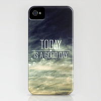 Today Is A Good Day iPhone Case by Galaxy Eyes | Society6