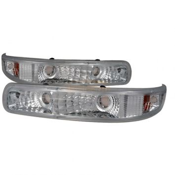 2006 CHEVY TAHOE CHROME/CLEAR EURO BUMPER AND CORNER LIGHTS - SPEC-D