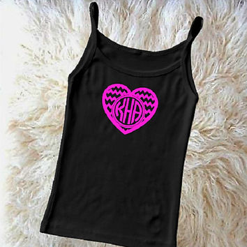 Valentine iron on, Heart monogram iron on, shirt diy, Pink Valentine, Valentines day gift, Red heart monogram