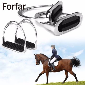 Metal Safety Stirrups - Equestrian Accessories - Free Shipping