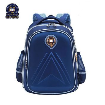 ICIKL3Z University of Oxford children student/books/orthopedic school bag backpack portfolio rucksack for boys girls for grade 1-3-6