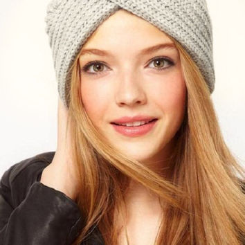 Cupshe Snow Lover Cross Beanie