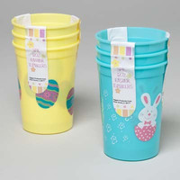 Plastic Easter Tumblers - 3 Pack Case Pack 48