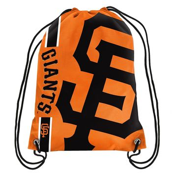 San Francisco Giants MLB  Drawstring Back Pack - SackPack ~ NEW!