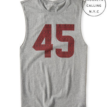 Brooklyn Calling Sleeveless 45 Graphic T