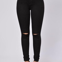 PEAPOP6 Canopy Jeans - Black