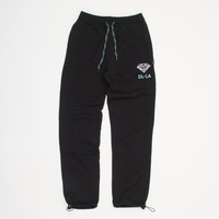 DL-LA Sweatpants in Black - Sweatpants - BOTTOMS