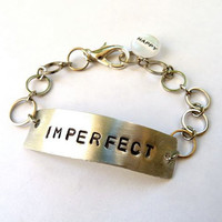 Imperfect But Happy Bracelet