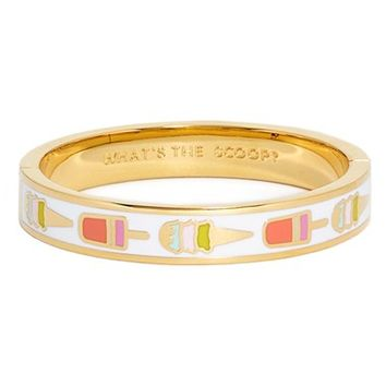 kate spade new york 'idiom - what's the scoop' bangle bracelet | Nordstrom