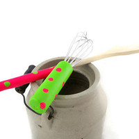 Neon colors whisk and spoon set for kitchen