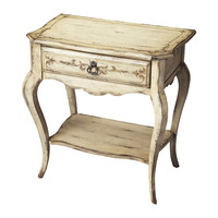 Moderate Guilded Cream Console Table