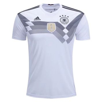 KUYOU Germany 2018 World Cup Home Men Soccer Jersey Personalized Name and Number