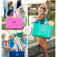 Monogram Large tote, Monogram ultimate tote, personalized tote, personalized oversized tote, tote, monogram bag, Bridesmaids gifts