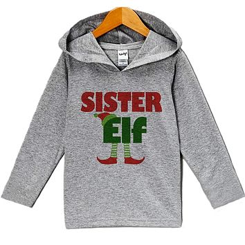 Custom Party Shop Baby's Sister Elf Christmas Hoodie