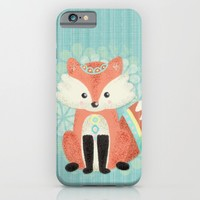 Cute Little Fox iPhone & iPod Case by Noonday Design | Society6