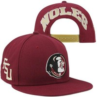 Nike Florida State Seminoles (FSU) 2013 Players True Snapback Hat - Garnet 9f5aaab09892