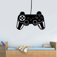 Wall Decal Vinyl Sticker Decals Gaming Time xbox 360 ps3 Game ps2 Controller (z3120)