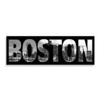Boston Black and White Wall Art
