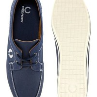 Fred Perry Drury Plimsolls at asos.com