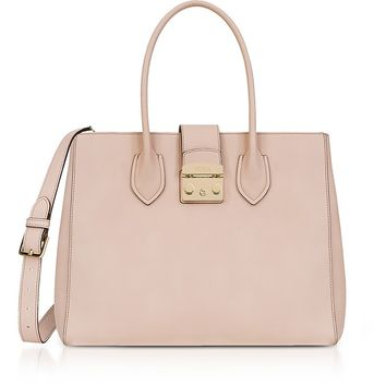 Furla Magnolia Leather Metropolis L Tote Bag