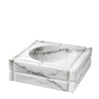 White Marble Ashtray | Eichholtz Nestor