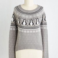 Critters Short Length Long Sleeve Chilly Nilly Sweater