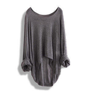 New Batwing Women Lady's Casual Loose Asymmetric Knit Coat Top Sweater 8 colours