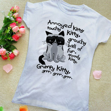 Grumpy Cat Parody Song Women's T-shirt, Awesome T-shirt