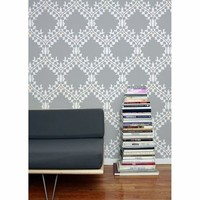Aimee Wilder Leaf Damask Wallpaper