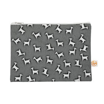 "Monika Strigel ""Llama Multi"" Gray Everything Bag"