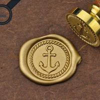 Anchor - Wax Seal Stamp by Get Marked (WS0275)