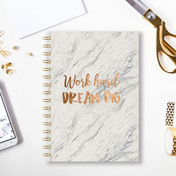 A4 Notebook | Bullet Journal | A5 Notebook | Notebook | Journal | Diary | Sketchbook | Spiral Notebook | Gift for friend School Journal