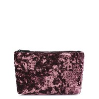 Velvet Make-Up Bag | Topshop