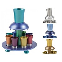 Anodized Kiddush Wine Fountain - 4 Colors
