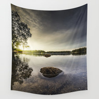 Cocoon Wall Tapestry by HappyMelvin