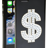 Women's kate spade new york 'money sign' iPhone 5 & 5s case - Black