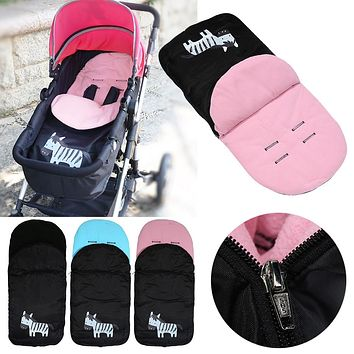 Warm stroller cover for baby