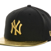 New York Yankees MLB 59th Anniversary Gold 59FIFTY Cap