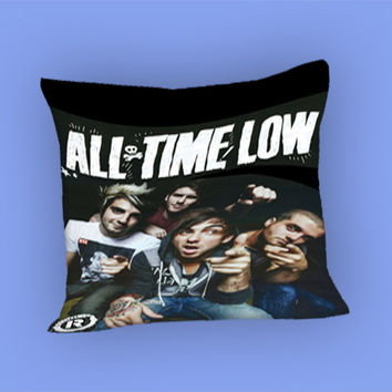 All Time Low Design for Pillow Case, Pillow Cover, Custom Pillow Case **